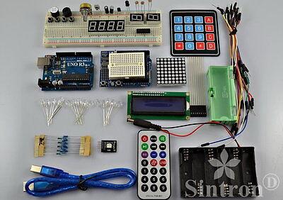 [Sintron] UNO R3 Kit with 4x4 Keypad Switch + 8x8 Dot Matrix for Arduino Starter
