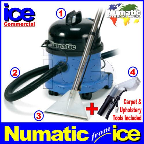 Numatic Carpet & Upholstery Wet Shampoo Vacuum Cleaning Equipment Machine CT370