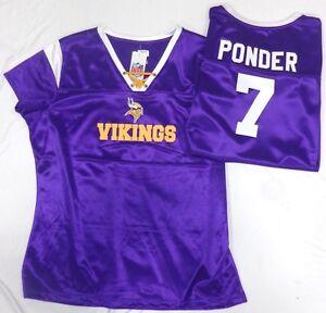 0323da39a4b Image is loading Minnesota-Vikings-NFL-Football-Ladies-Ponder-Draft-Me-