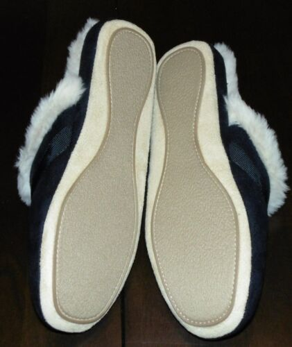 Bow NEW NIB JMS0616 CLARKS Womens Fur Lined Red OR Black Indoor//Outdoor Slipper