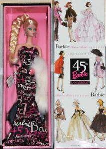 Barbie Fashion Model 45th Anniversary Poupée Mattel B8955 Mannequin Collector
