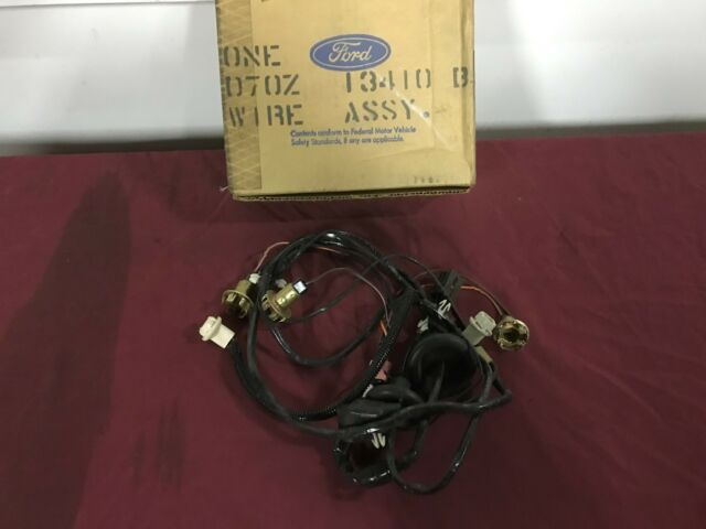 nos 77 78 79 ford ltd ii tail light / fuel sending unit harness d7oz-