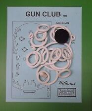 1953 Williams Gun Club pinball rubber ring kit