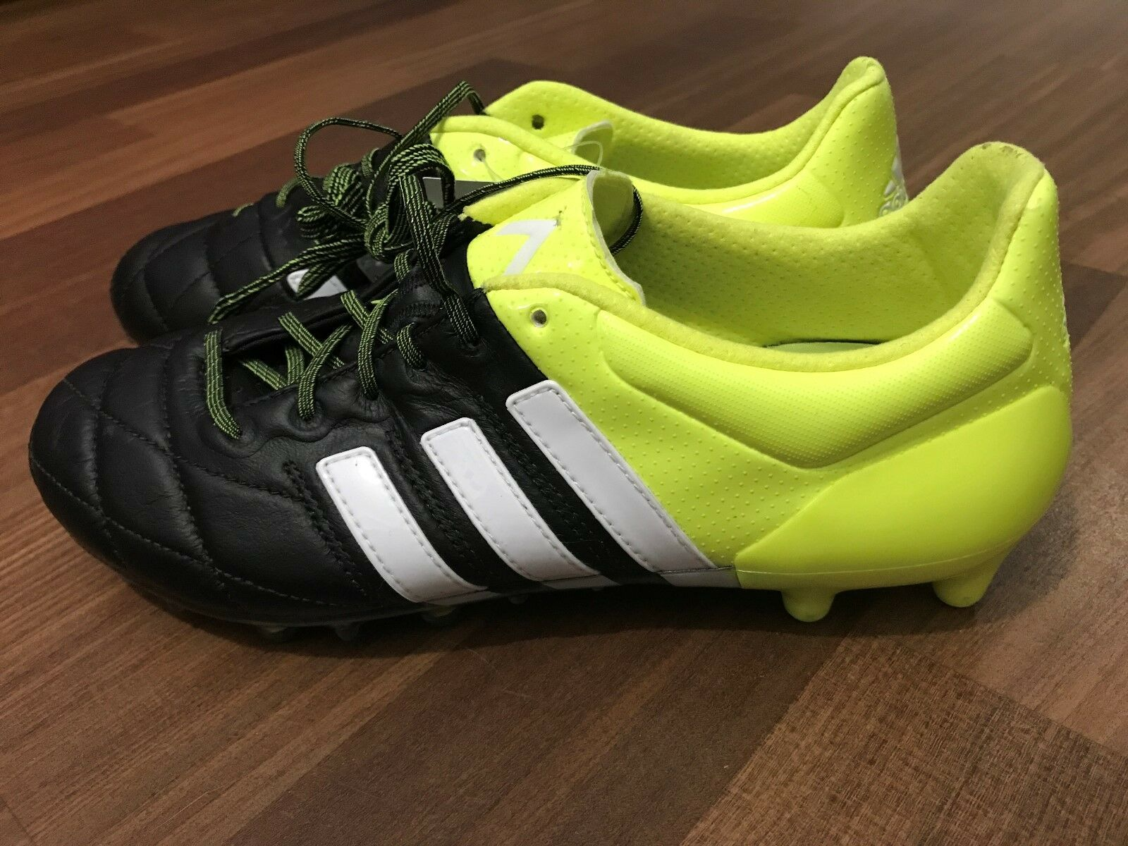 official photos 875c9 0ec49 SCARPE DA CALCIO ADIDAS ACE 15.1 15.1 15.1 FG AG LEATHER - B32818 - NUOVE -  PROFESSIONALI b982e0