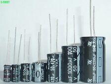 Hot 16 value 140pcs 50V Electrolytic Capacitor Assortment assorted Kit Set