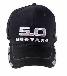 5.0 Mustang Hat - Ford Mustang Baseball Cap - NEW, COOL DESIGN! FREE US Shipping