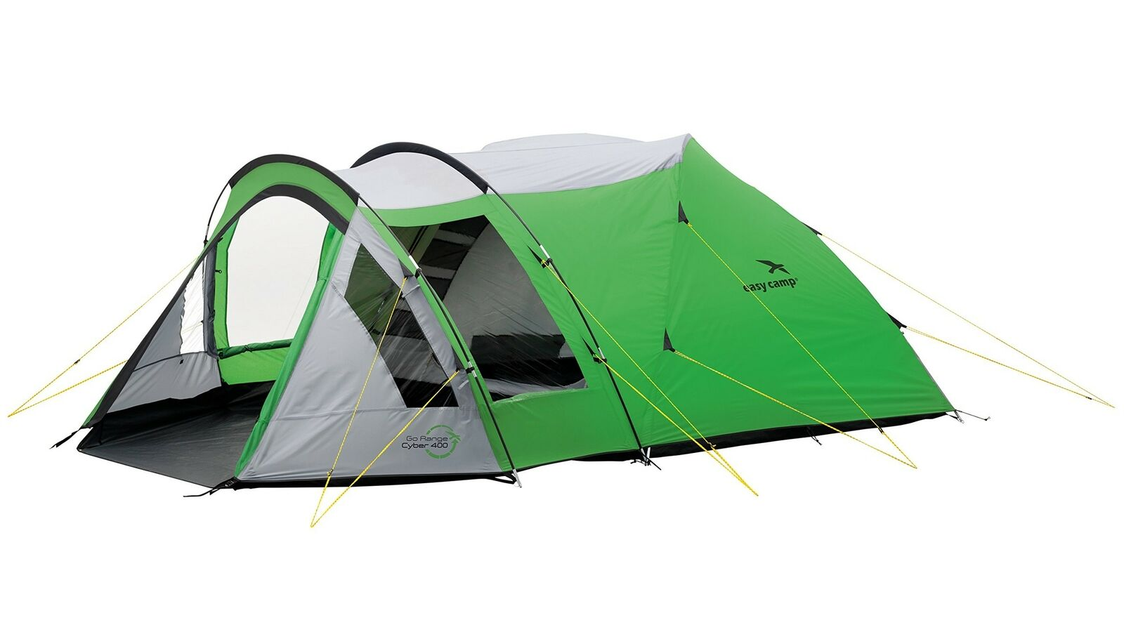 Easy Camp Cyber 400 Tent - Green/Silver
