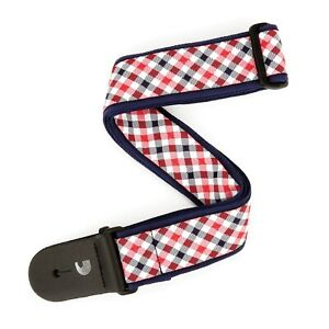 D-039-Addario-Planet-Waves-Guitar-Strap-Woven-Gingham-Red-and-Blue
