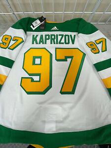 KIRILL KAPRIZOV MINNESOTA WILD REVERSE RETRO AUTHENTIC ADIDAS NHL ...