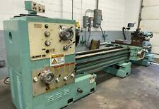 Summit 30 Swing 120 Centers Gap Bed Engine Lathe Withtaper Attachment And Dro