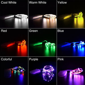 20-Micro-LED-2M-Silver-Wire-Mini-String-Fairy-Lights-Fun-Party-Xmas-Wedding-6C0
