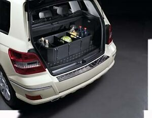 Genuine oem mercedes benz glk class x204 cargo area tray for Mercedes benz car trunk organizer