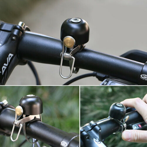 Cycling Bike Bicycle Handlebar Bell Safety Copper Ring Bicycle Accessories HL