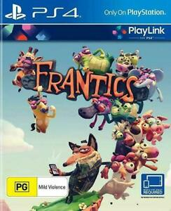 Frantics-PS4-Playstation-4-Game-Disc-Only