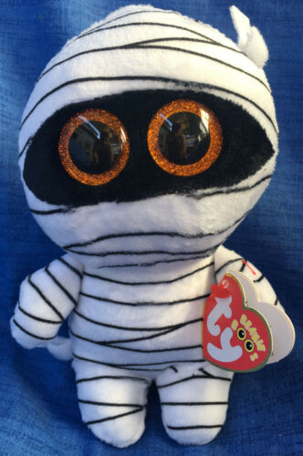W-F-L TY Boos Mummy Mumie Halloween 15 cm Glubschi Boo´s Glitzeraugen