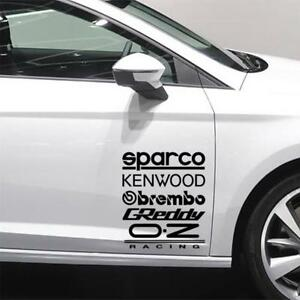 10-X-RACING-STICKERS-Funny-Car-Window-Bumper-JDM-VW-VAG-Vinyl-Decal-Sticker