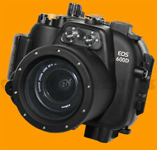 Underwater Housing for Canon EOS 600D Kiss X5 Rebel T3i camera waterproof case