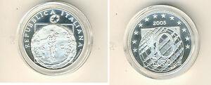 Italie 10 Eur 2005 60 Jahre Paix Pp Argent Europastern (M00346)