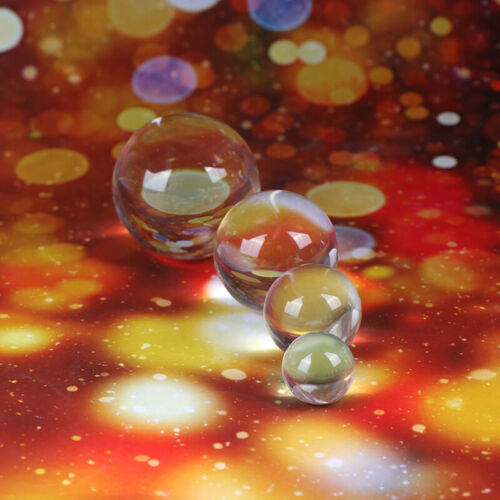 NEW 1Pc Clear Crystal Ball Quartz Healing Sphere Photography Props Home Decor
