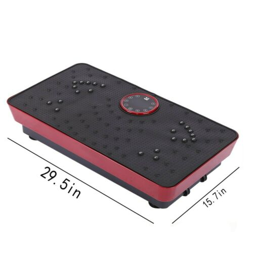 Vibration Plate Exercise Machine Whole Body Workout Fitness Platform Weight Loss