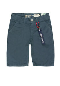 Lemmi-Chino-Bermuda-Hose-Shorts-blue-vintage-Art-1680338054-Gr-146-152-158