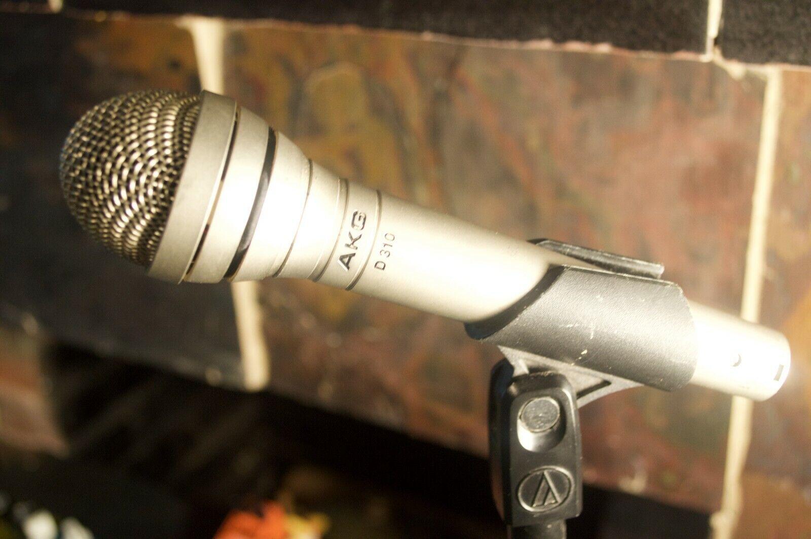 Vintage AKG D310  Dynamic mic Shure sm58 killer