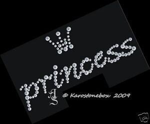 Hotfix Strass Bügelbild Verre Princess Avec Une Couronne 120823 Karostonebox-afficher Le Titre D'origine Wxhajdqt-10103544-956174288