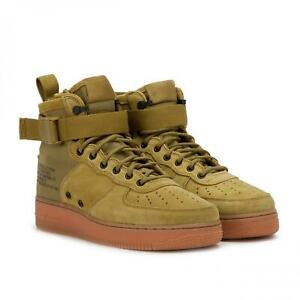 Details about Nike Mens SF AF1 MID High Trainers Sneakers Desert Moss (917753 301)