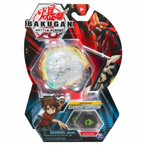 1 caractères Carte Bakugan gorthion BATTLE PLANET 2 bakucores Diamond gorthion