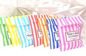 Personalised-Wedding-Favour-Sweet-Bags-Birthday-Candy-Cart-Striped-Polka-Dots