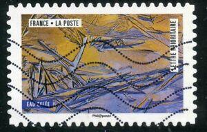 Copieux France Autoadhesif Oblitere N° 1505 La Nature A L'oeuvre / Eau Gelee Nourrir Les Reins Soulager Le Rhumatisme