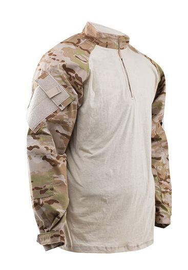 MultiCam ARID Camo 1/4 Zip Tactical Combat Shirt by TRU-SPEC 2536 / FREE SHIP