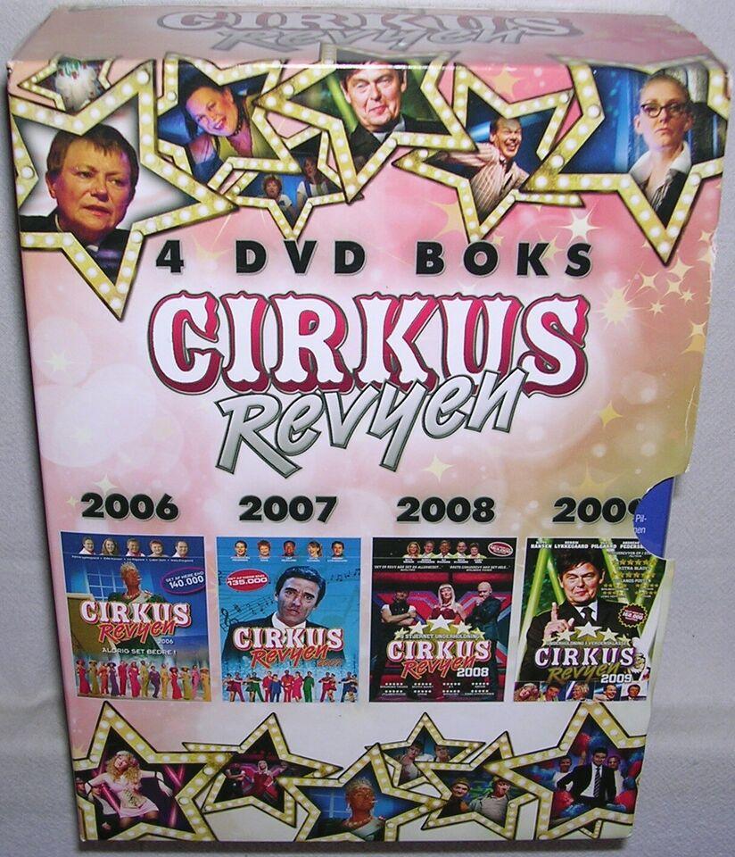Cirkus Revyen 4 DVD Boks, DVD, komedie