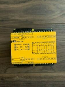Pilz PNOZ X9P 24DVC 777609 7n/o 2n/c 2so Safety Relay PNOZ-X9P
