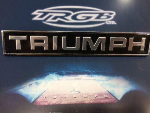 NEW CLASSIC TRIUMPH TR6 SPITFIRE MK3 ONWARDS TRIUMPH BADGE 627563