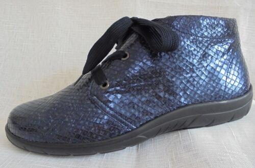 Stivaletti H 5 Semler 42 larghezza Shoes 5 8 Lace up Pelle gw1wBq7