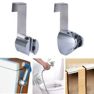 Stainless-Steel-ABS-Toilet-Bidet-Bathroom-Sprayer-Spray-Gun-Holder-Hook-Hanger