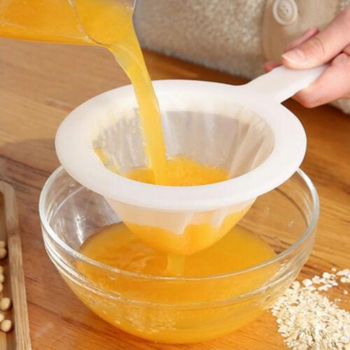 1Pcs Soy Milk Fruit Vegetable Juice Gauze ultra-fine Filter Mesh Sieve