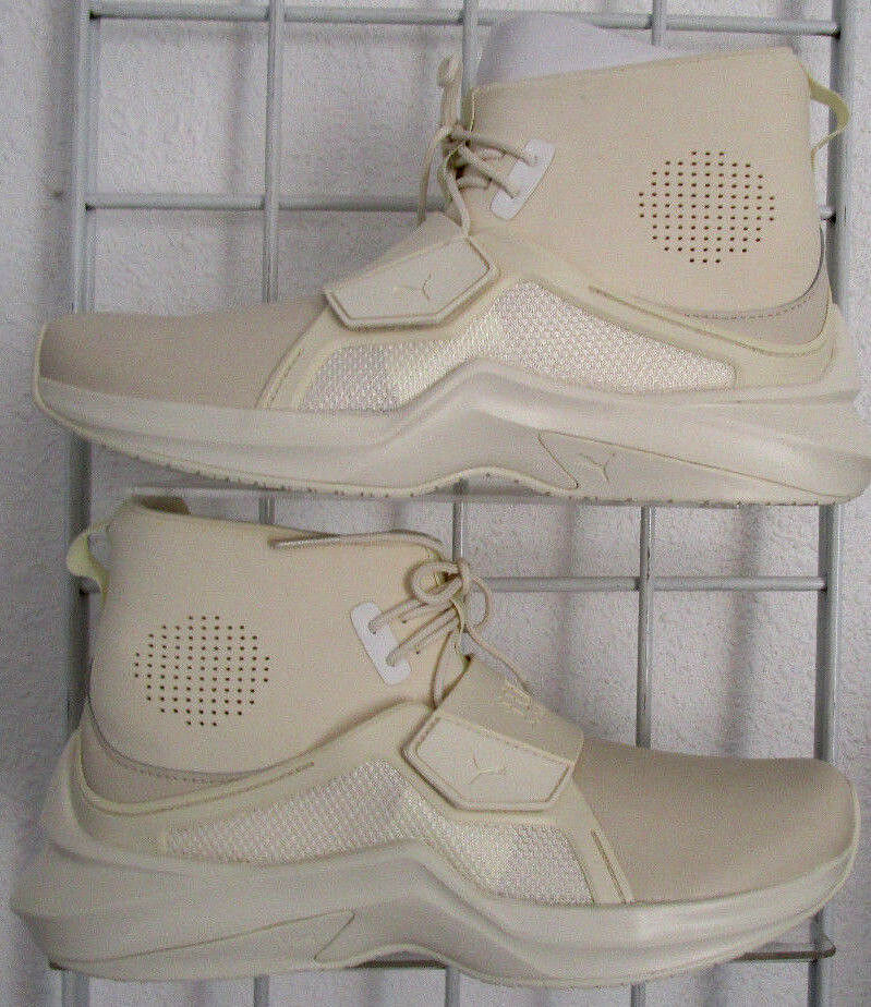 femmes  Puma Fenty The Trainer Hi Sneakers, New Whisper  blanc  Walking  Chaussures  Sz 8