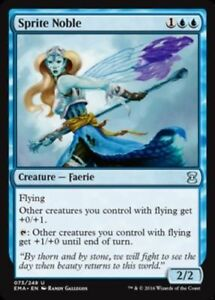 MTG-x4-Sprite-Noble-Eternal-Masters-Uncommon-Blue-NM-M-Magic-the-Gathering