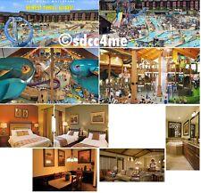 Wyndham Glacier Canyon Resort 3BR DLX October 8-10 Columbus Day Wisconsin Dells