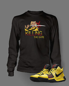 e49a1fbd803b T shirt To match KYRIE 3 BRUCE LEE Shoe Mens Killing The Game ...