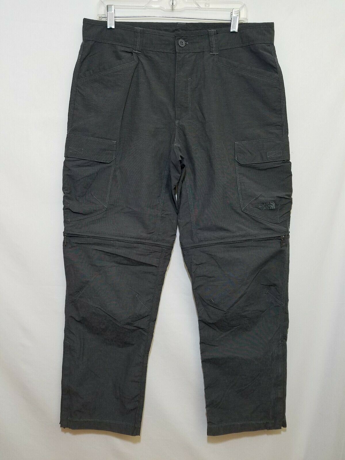 The North Face Mens Grey Congreenible Cargo Hiking Pants Size 34