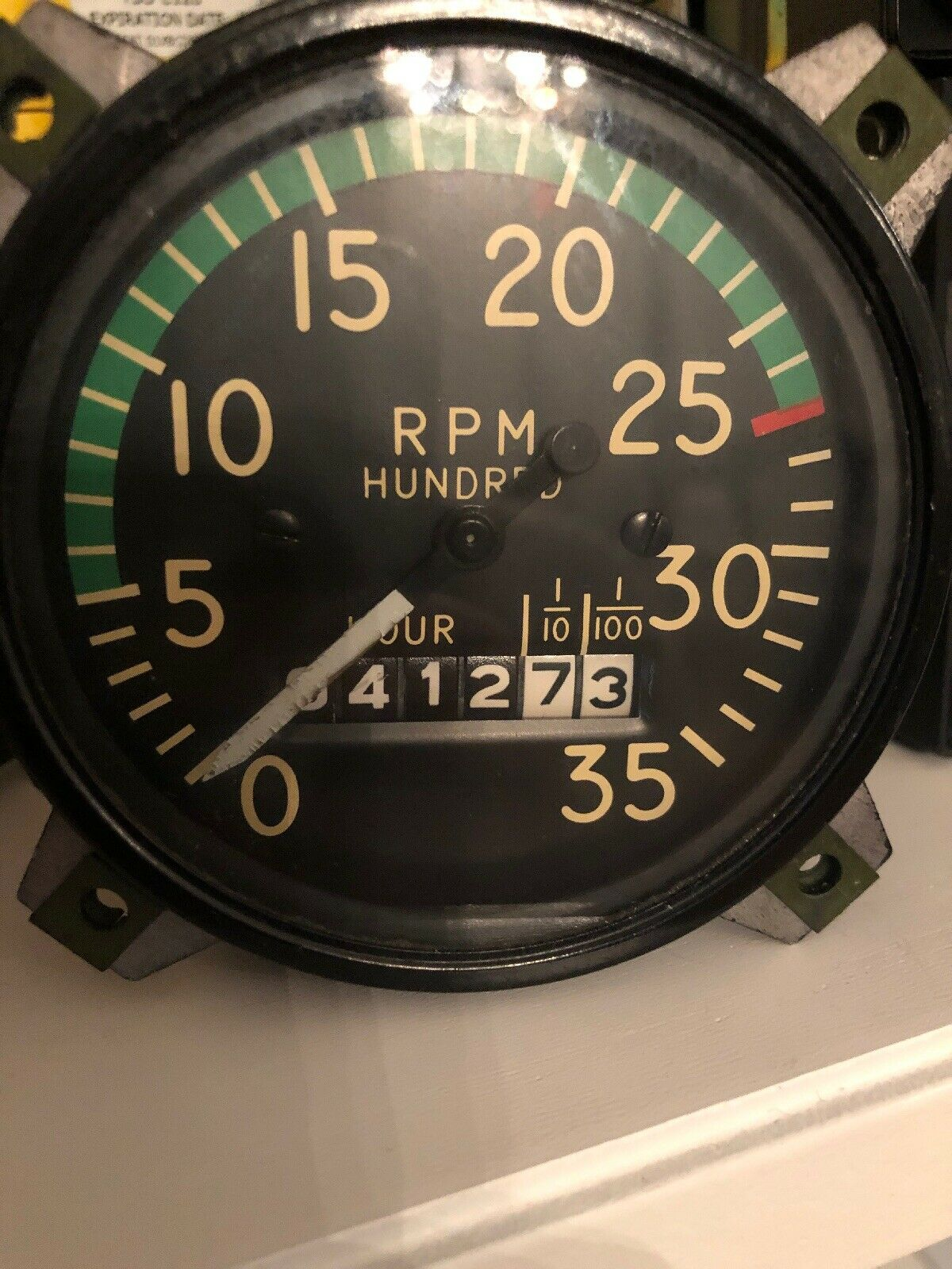 Stewart Warner 821108  RPM Tachometer Indicator