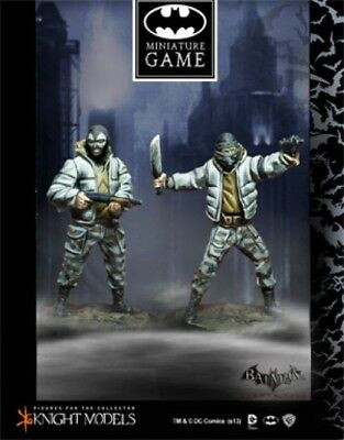 Metal Knight Models Batman Miniatures Game Brand New Spice And Two Face Thugs