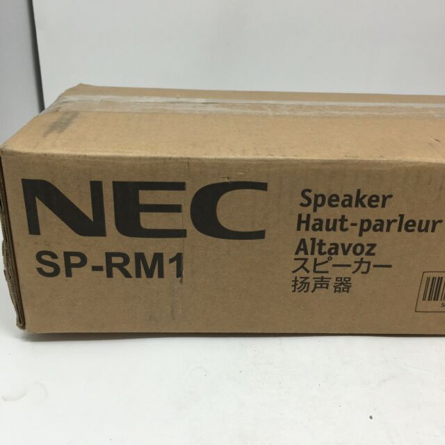 Pair of NEC SP-RM1 Left//Right Large Screen Display Speakers