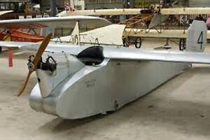 Image Is Loading Wren English Electric Ultralight Airplane Desktop Wood Model