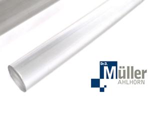 Acrylglas-xt 16x12x2000 mm Rundrohr Set á 2 St - PMMA-XT-Rohr transparent