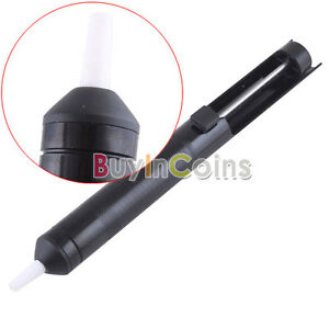 Aluminum-Body-Solder-Pump-Remover-Gun-Sucker-Suction-Tin-Bar-Tool-Black