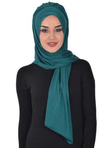 BS-41 Fertig Kopftuch Praktisch Hijab Türban Esarp Sal Tesettür Khimar